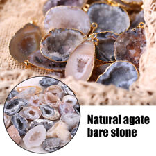 Agate Geodes Collection Raw Stone Slice Natural Crystals Halves Healing Grade SL