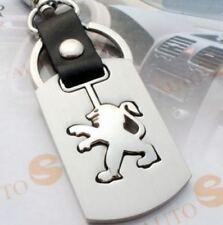 Porte clé Métal Élégante  neuve - PEUGEOT LION - 206 207 208 307 308 406 407 408