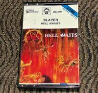 Slayer - Hell Awaits. Cassette Tape Plays Well Thrash Metal MG