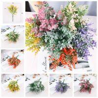 4pcs Artificial Plants Eucalyptus Leaves Flowers DIY Wedding Greenery Home Decor
