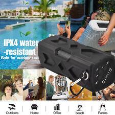 Portable Bluetooth CSR 4.0 Wireless Speaker Waterproof USB Power Bank Bass NFC