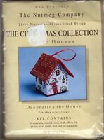 Meg Evershed 3D Three Dimensional Cross Stitch Kits - Santa Houses - U Pick