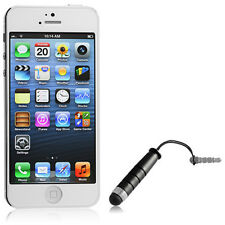 Universal Mini Touchscreen Stylus Pen for Smartphones Tablets Black Small NEW!