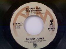 """QUINCY JONES """"BOOGIE JOE THE GRINDER / SOUL SAGA"""" 45"""