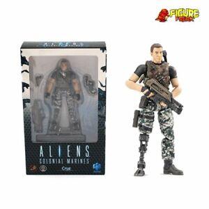 "Hiya Toys Aliens Colonial Marines Cruz 3.75"" Action Figure (1:18 Scale)"