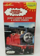 THOMAS THE TANK ENGINE & FRIENDS: JAMES LEARNS A LESSON, OTHER STORIES VHS VIDEO