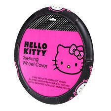 New Sanrio Hello Kitty Collage Car Truck Suv Universal Fit Steering Wheel Cover