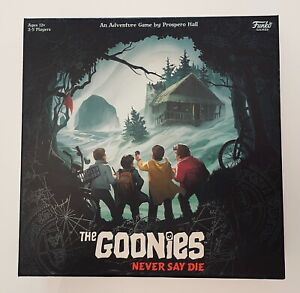 The Goonies Never Say Die - Funko Strategy Board Game NEW & SEALED