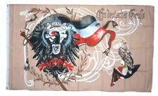 Fahne Flagge Kaiserreich  Wilhelm  Gott mit Uns 1914   150 x 250 XXL  NEU