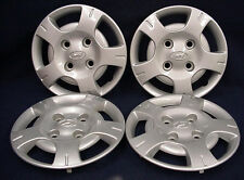 "HYUNDAI ACCENT 99 13"" 5 SPOKE SILVER WHEEL COVERS / HUBCAPS - SET OF 4  - OEM"
