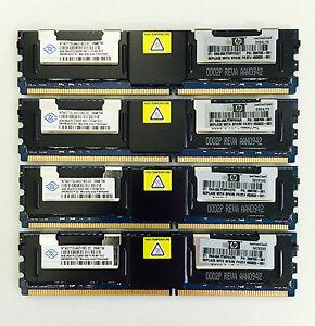 32GB (8x4GB) Fully Buffered DDR2 PC2-5300F Memory Ram For Apple MAC Pro 2006 1.1