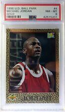 1996 96 Upper Deck Ball Park Franks Gold Michael Jordan #4, PSA 8, pop 1 only 5^