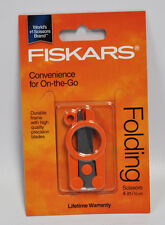 Fiskars 4 Inch Compact Folding Scissors