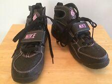 Nike Air Huarache Nero Donna Scarpe da ginnastica @ Misura UK 5 EUR 38/24 cm in buonissima condizione in esecuzione