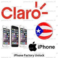CLARO PUERTO RICO iPhone X XS XR XS MAX UNLOCK CODE Service - Fast 100% Success