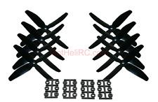 HQ Prop Quadruple 4 blades 5x4x4 BLACK MultiRotor propeller CW,CCW Mini 250mm