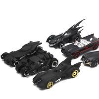 Set of 6 Batman Batmobile Modellauto Schwarz Auto Spielzeug Model Sammlung