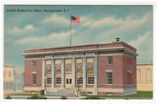 Narragansett, Rhode Island,  Early View of The Post Office