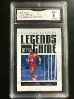 2020-21 NBA Hoops Charles Barkley Legends of The Game /699 #70 GMA 9 Mint HOF