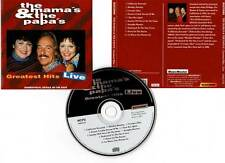 "THE MAMA'S AND THE PAPA'S ""Greatest Hits Live"" (CD) 1995"