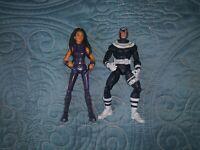 Toy Biz Marvel Legends Lot Of 2 X-23 Laura Kinney & BullsEye