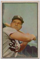 1953 Bowman Color #2 Vic Wertz VG-EX St. Louis Browns FREE SHIPPING