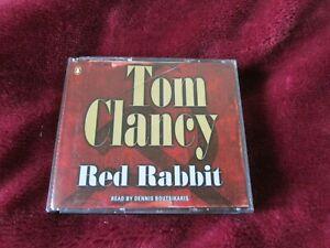 TOM CLANCY -  RED RABBIT - 5 CD AUDIO BOOK SET