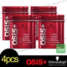 Schwarzkopf OSIS+ THRILL Fibre Elastic Gum Strong Control Styling 100ml 4pcs