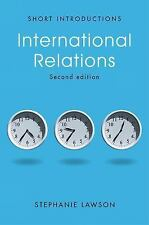 INTERNATIONAL RELATIONS - Like NEW PAPERBACK BOOK