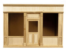 Dollhouse Shop Facade #75 1:12 Scale Roombox Front
