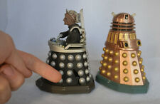 Doctor Dr. Who Loose Action Figure - Bronze Dalek & Davros -  Spares or repair