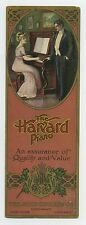 Harvard Piano bookmark tradecard