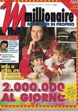 12 1991 - MILLIONAIRE - ANNO II - N.9 - 12 1991 - 2.000.000 AL GIORNO