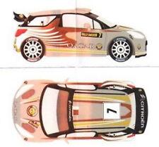 decal CITROEN DS3 WRC N°7 SVEZIA 2012   Scale Racing Models  RDR002