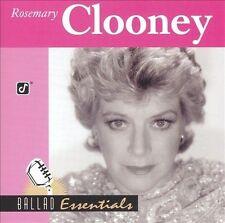 Rosemary Clooney : Ballad Essentials Vocal 1 Disc CD