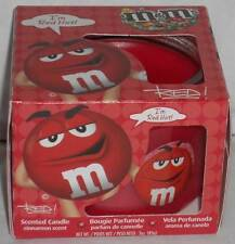 M&M'S® RED CHARACTER LIMITED EDITION COLLECTIBLE CINNAMON SCENT CANDLE