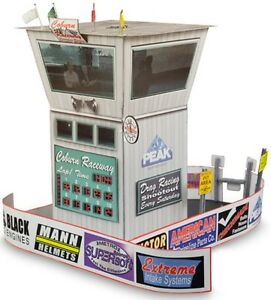 """BK 4313 1:43 Scale """"Race Tower"""" Photo Real Scale Building Kit"""