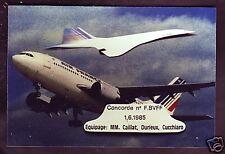 2333+ CPM  CARTE POSTALE  CONCORDE  1  JUIN  1985
