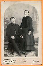 Eureka, CA, Portrait of a Couple, by Vansant, circa 1880s