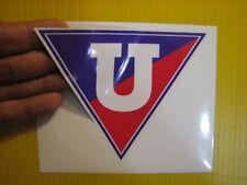 "BEST PRICE!! LOT OF 10 SOCCER DECAL / STICKER  LDU QUITO ECUADOR 5"" X 4"""