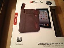 XtremeMac Vintage Sleeve for New iPad & iPad 2 NEW LOOK!!!
