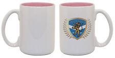 Sale! 15 oz Ceramic Sublimation Mugs - Two-Tone - Pink -36/case (21516-1)