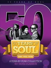 50 Years of Soul Sheet Music A Year-by-Year Collection Piano Vocal Gui 014037674