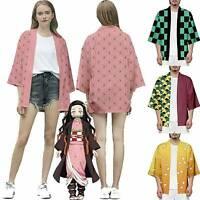 Demon Slayer: Kimetsu no Yaiba Characters Kimono Coat Shirt Top Costume Gift