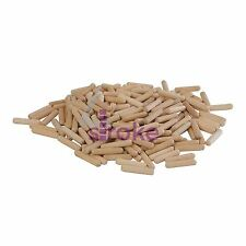 200Pk Dowel Pins 6 X 30mm - Hand Tools Timber Joinery Joints DIY
