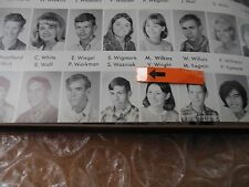 STEVE WOZNIAK/ORIGINAL 1967 HOMESTEAD HIGH SCHOOL YEARBOOK/STEVE JOBS FRIEND