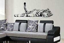 Sleeping tiger wall art sticker Home/ Lounge /Bedroom