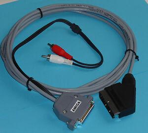 Amiga RGB Scart Audio-Video Cavo 4 Metri