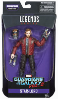 MARVEL LEGENDS GUARDIANS OF THE GALAXY SERIES STAR-LORD FIGURE BAF TITUS