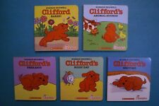 Chick-Fil-A 2000 Board Books - Clifford the Small Red Puppy - Complete Set of 5